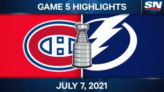 Lightning edge Canadiens in Game 5 to win Stanley Cup