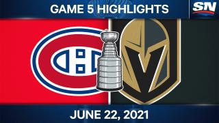 Canadiens push Golden Knights to the brink with Game 5 win