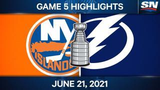 Stamkos and Lightning bulldoze Islanders to take Game 5