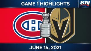 Theodore's two points help Golden Knights top Canadiens in Game 1