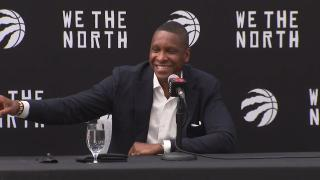 Ujiri explains why decision and negotiations to re-sign with Raptors took so long
