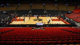 Masai and Raptors have no plans of playing anywhere but home in Toronto
