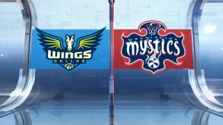 Highlights: Mystics 76, Wings 75