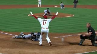 Ohtani perfectly steals home against Yankees