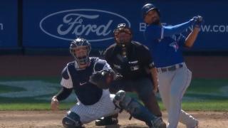 Semien demolishes grand slam against Yankees