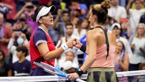 Andreescu eliminated from US Open after tough 3 set loss to Sakkari