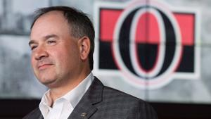 Dorion excited to see Senators' rebuild through with extension