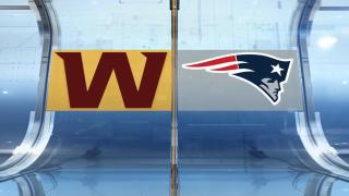 Preseason Highlights: Patriots 22, Washington 13