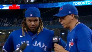 Hitting 45th home run a special moment for Guerrero Jr.