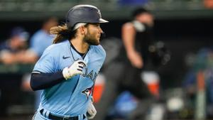 Bichette honoured to be Blue Jays' Roberto Clemente nominee this year