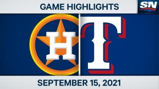 Highlights: Astros 7, Rangers 2