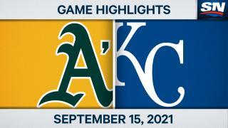 Highlights: Athletics 12, Royals 10