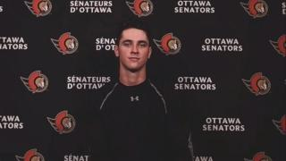 Pinto's confidence level high after finishing out last season with Senators