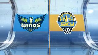 First Round Highlights: Sky 81, Wings 64