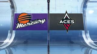 Game 1 Highlights: Aces 96, Mercury 90