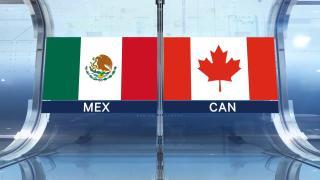 Highlights: Canada 1, Mexico 1