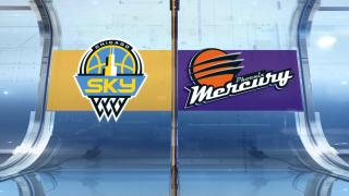 Game 1 Finals Highlights: Sky 91, Mercury 77