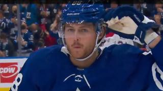 Nylander scores first of the season, gives Maple Leafs lead vs. Canadiens