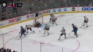 Goal by Gabriel Landeskog