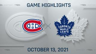 NHL Highlights: Maple Leafs 2, Canadiens 1
