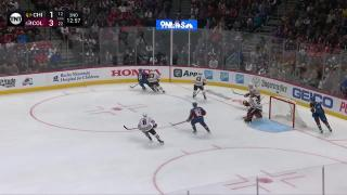 Marc-Andre Fleury Save on Samuel Girard 18:22/2nd