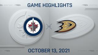 NHL Highlights: Ducks 4, Jets 1