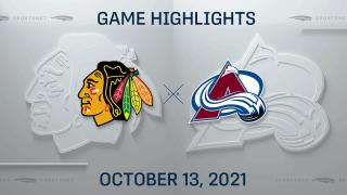 NHL Highlights: Avalanche 4, Blackhawks 2