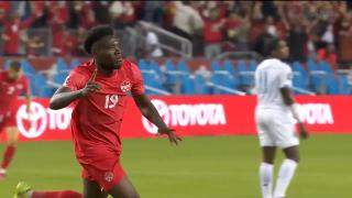 Davies scores jaw-dropping goal for Canada with incredible individual effort