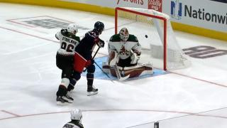 Blue Jackets' Texier scores less than a minute into game