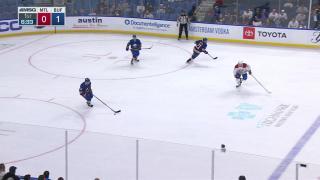 Goaltender Save by Samuel Montembeault
