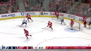 Goal by Dylan Larkin