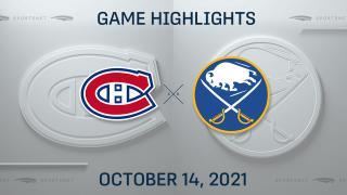 NHL Highlights: Sabres 5, Canadiens 1
