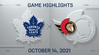 NHL Highlights: Senators 3, Maple Leafs 2