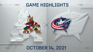 Highlights: Blue Jackets 8, Coyotes 2