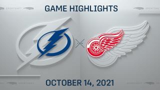 NHL Highlights: Lightning 7, Red Wings 6
