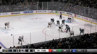 Goaltender Save by Calvin Petersen