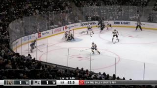 Goal Allowed by Robin Lehner