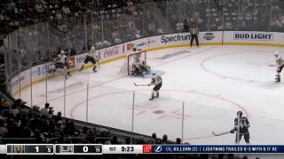 Goaltender Save by Robin Lehner