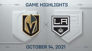 NHL Highlights: Kings 6, Golden Knights 2