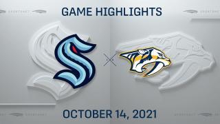 NHL Highlights: Kraken 4, Predators 3