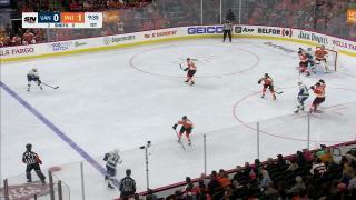 Goaltender Save by Carter Hart