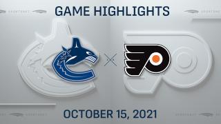 NHL Highlights: Canucks 5, Flyers 4 (SO)
