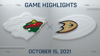 NHL Highlights: Wild 2, Ducks 1