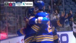 Karel Vejmelka with a Goal Allowed vs. Buffalo Sabres
