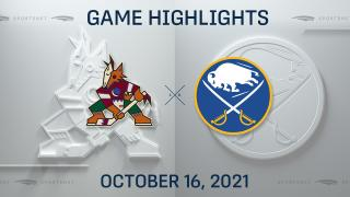 NHL Highlights: Sabres 2, Coyotes 1 (SO)