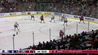 Goaltender Save by Ilya Sorokin
