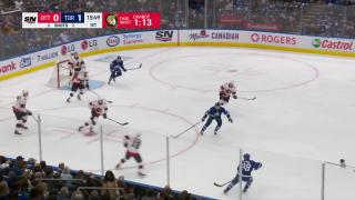 Goaltender Save by Jack Campbell