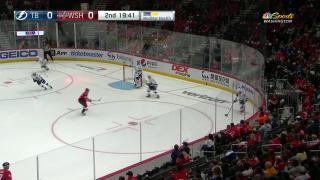 Goaltender Save by Vitek Vanecek