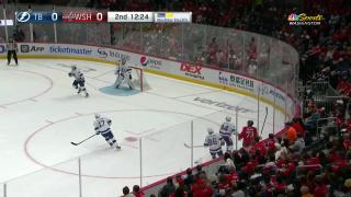 Goaltender Save by Andrei Vasilevskiy
