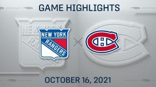 NHL Highlights: Rangers 3, Canadiens 1